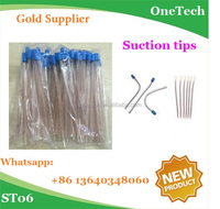 China made high quality disposable dental surgical aspirator suction tips : green material&cheap price in large quantity