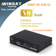 2017 New 1080p hd decoder digital Satellite receiver V8 Super DVB-S2 updated version of A5S better than V8S