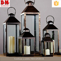Fashion Latest Decoration Brass Candle Holder