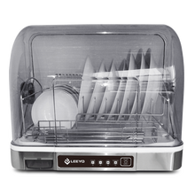 Hanging stainless steel dish rack, hygienic cupboard dish dryer