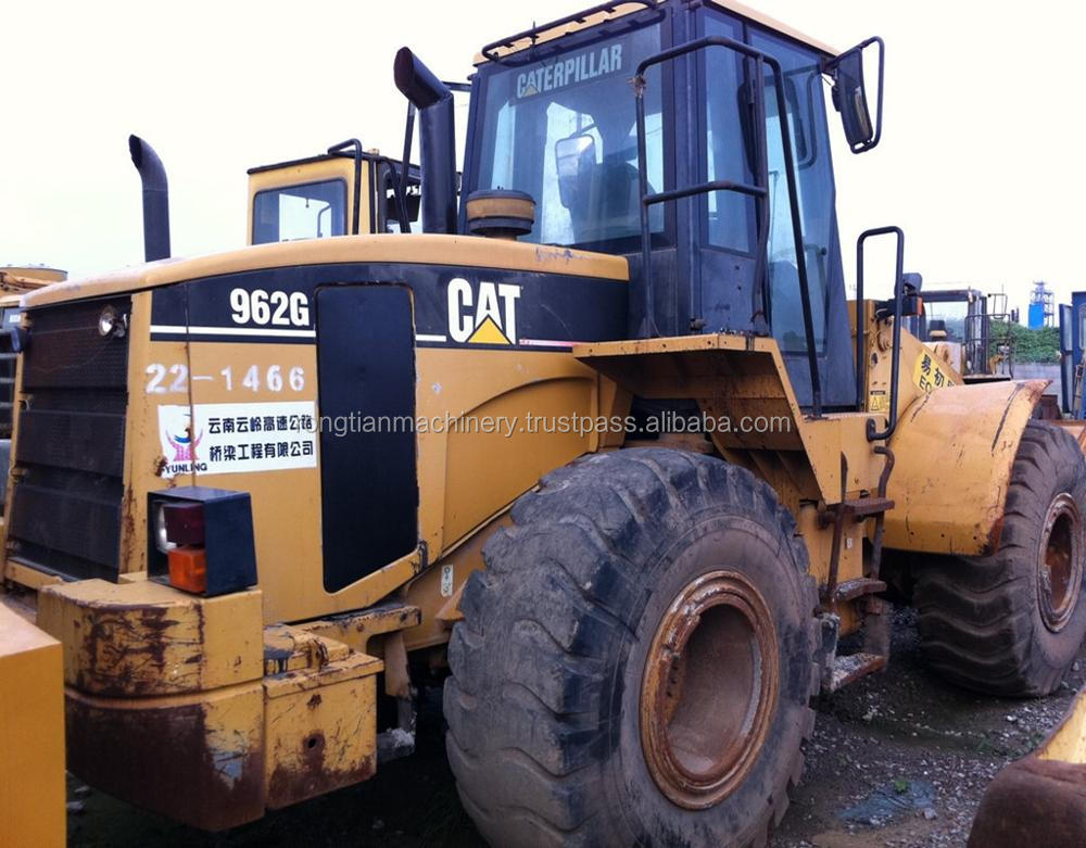 Good quality used cat wheel loader 962G for sale/ cat loader with low price