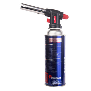 WS-504C high efficient blue flame cutting tools refillable creme brulee butane torch welding torch