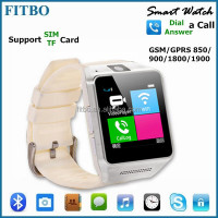New Phonebook mobile watch phone for Iphone 4 4s 5 5s 6 , Pedometer/Bluetooth