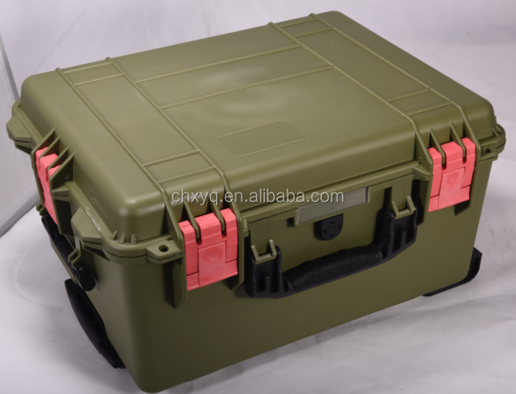 Factory Portable Lockable Hard Aluminium Tool Box Flight Case With Foam