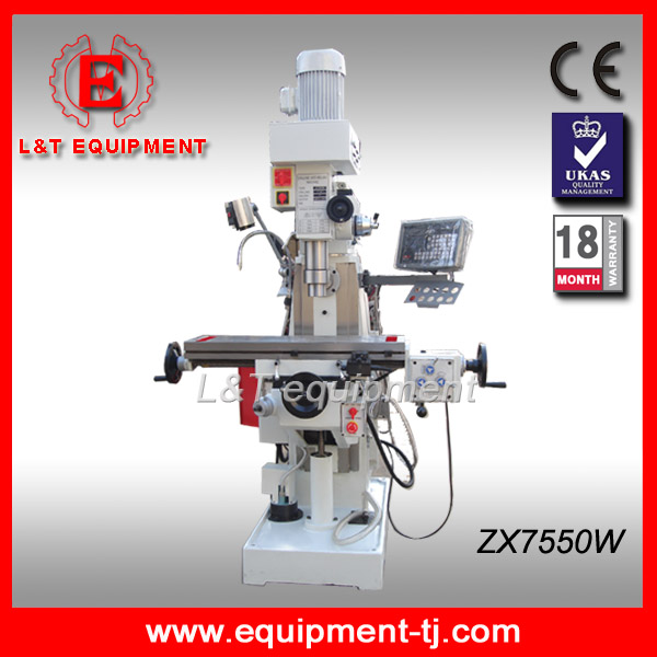 ZX7550W High Precision Sieg Universal Milling Machine