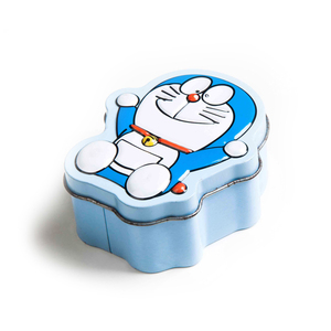 Doraemon Robot Cat Shape Multi Functional Case Candy Tin Containers