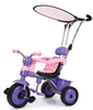 New Models Three Wheels Baby Child Tricycle Toy Car With Push Bar