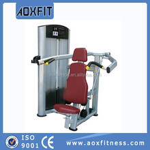 Sports fitness equipment china free weight gym equipment shoulder press AX8804