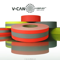 Home Laundering Reflective Garment Tape, Non-perforated FR Treated Reflective Fabric, RT-FRHW506030-CTN2
