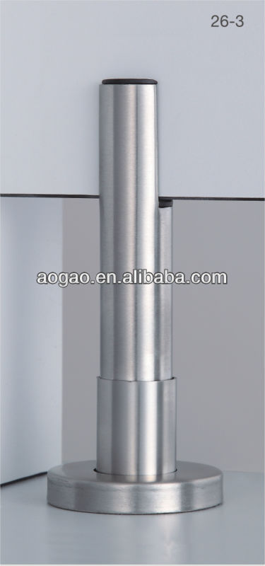 Stainless steel toilet partition support leg buy for Stainless steel bathroom partitions