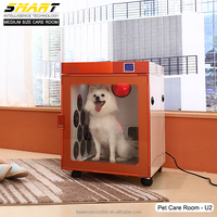 Dog dryer & grooming accessories pet dryer machine compartment dog blow dryers in stock