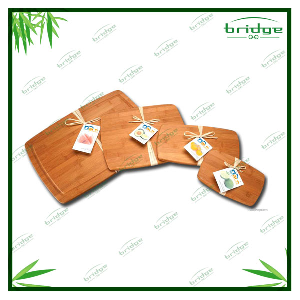 3pcs natural bamboo cutting board