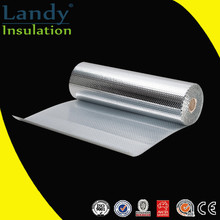 Building material fireproof silver foil wrap bubble insulation for roof underlayment roll