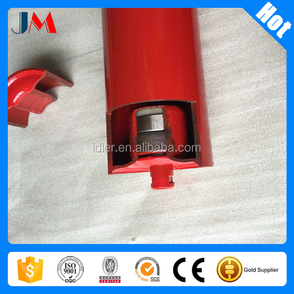 Coal mining carbon steel red tbe 89 conveyor roller