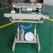Vertical bag Continuous Sealing Machine with Gas Flushing
