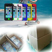 For iphone case/Waterproof case for iphone 4 4s 5 5s 5c