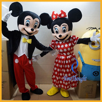 Wholesale adults mickey minnie character mouse mascot costume