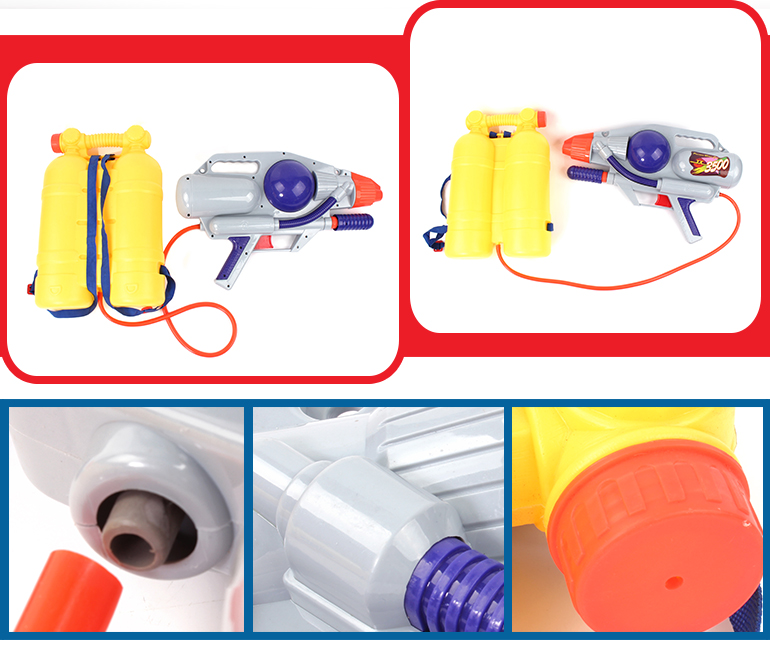 Cost-effective creative design suction pressure backpack water gun for childred