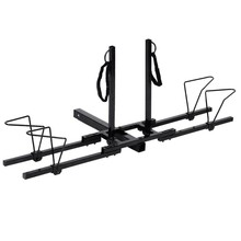 "Heavy Duty 2 Bike Bicycle 2"" New Hitch Mount Carrier Platform Rack Car Truck SUV"