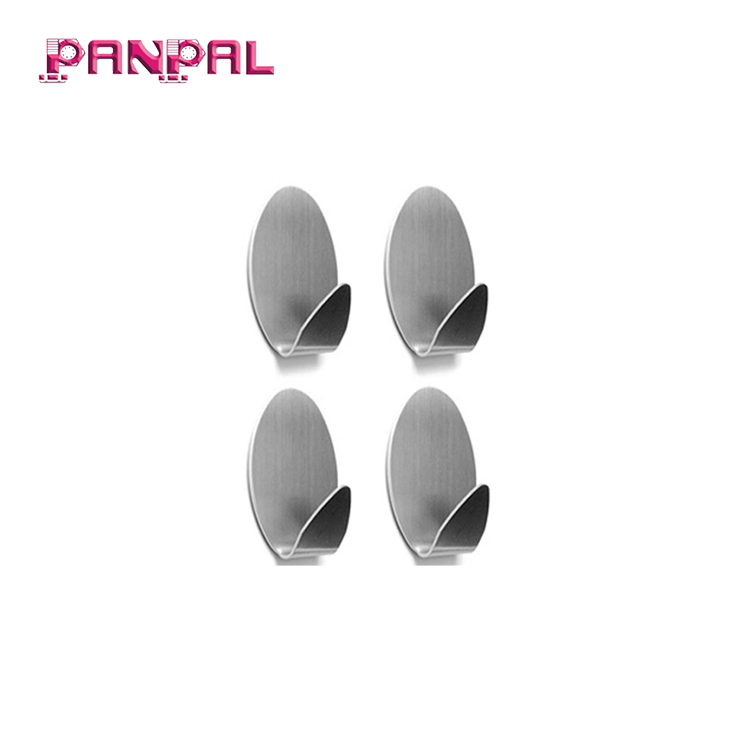 High Quality Adhesive Hooks, Heavy Duty Stainless Steel Wall Hooks