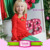 Hot sales ! 2016 aqua long sleeve cotton infant kids toddler girl icing shirts