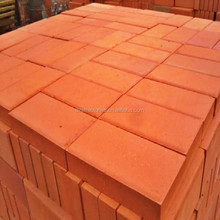 cheap red paving brick price for sale of China manufacturer