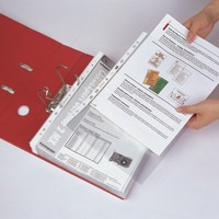 Super Clear Texture presentation sheet protector