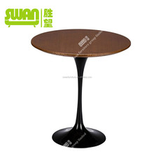 3033 beautiful wood and stone dining table