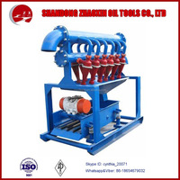 Drill rig parts Solid control system drilling mud desilter for oilfield
