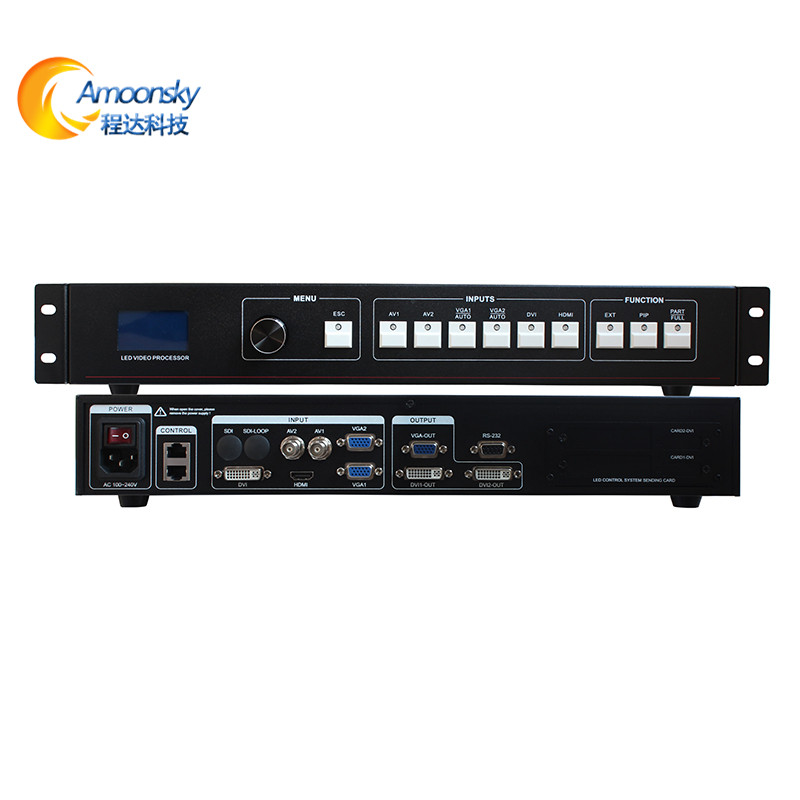 2017 new arrival video processor AMS-MVP508 led display video processor for led display outdoor advertising video screen