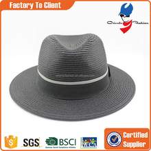 Designer new products new arrival men's panama paper straw hat