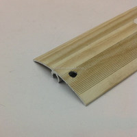 aluminum flooring joint cover strip for interior transition decoration