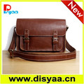 New style genuine leather messenger bag for man
