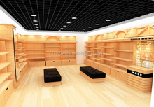 wooden shoe display <strong>shelf</strong>, shoe store fixture