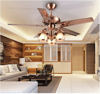 Modern E27 type incandescent lamp 48inches Ceiling fan with light.