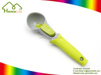 new fashion Ice Cream Scoop cone shaped ball release button ice cream scoop spoon button Summer party item