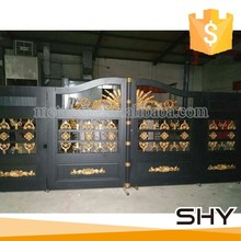 Wrought iron gate models/house gate grill designs