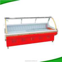 salable meat display chiller cabinet for keeping fresh and storage