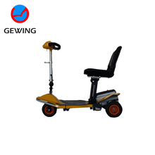 3 Wheel Lightweight Foldable Adult Electric Motorcycle Mobility Scooter With CE Approved