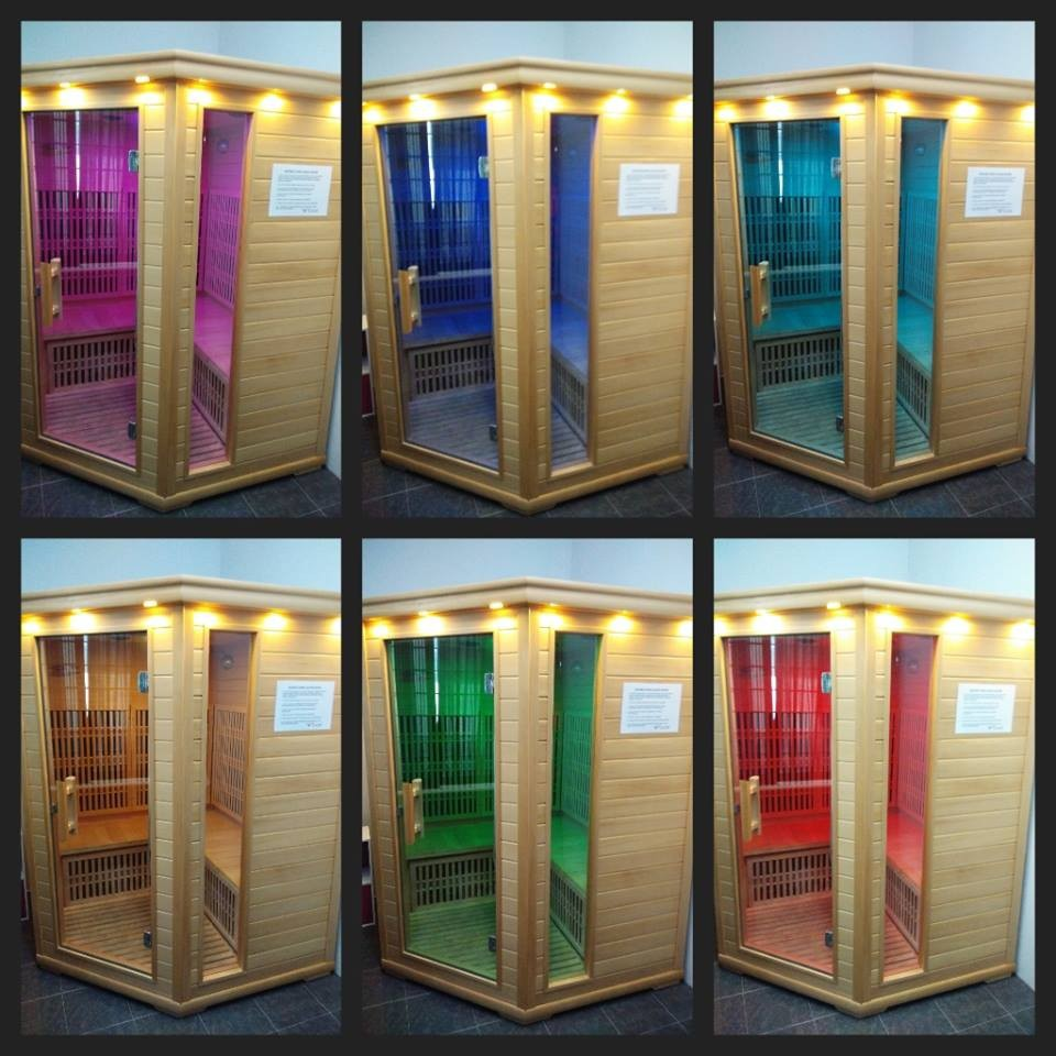 Ce etl body building infrared sauna room commercial gym for Cost of building a home sauna