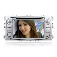 Winmark Car Radio DVD GPS Player 7 Inch Double Din With Bluetooth TV Mirror-Link Mstar2531 For FORD Mondeo 2007-2011 DK7009