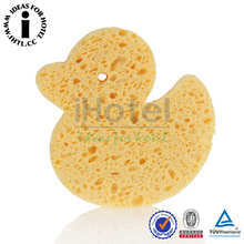 Cute Animal Shape Baby Bath Massage Sponge