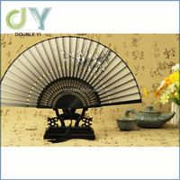 Chinese bamboo paper folding fan stand promotional