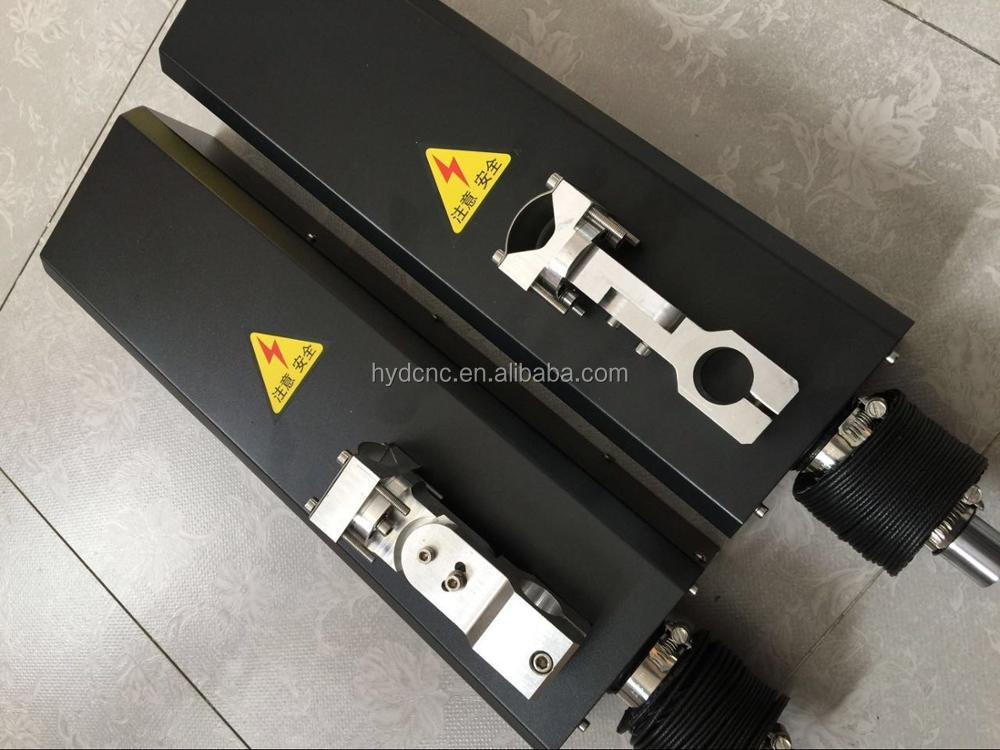 24VDC lifter for plasma/flame cutting machine travel 150-200mm with anti-collision fixture