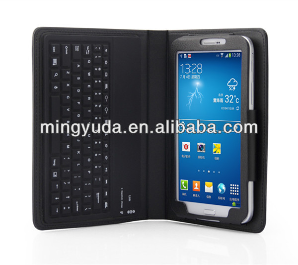 Detachable Bluetooth Silicone Keyboard Leather Case For Samsung Galaxy Tab3 7 Inch P3200 P3210