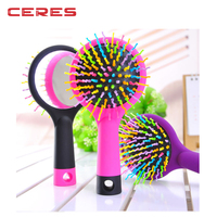 Rainbow Hair Brush Detangling Brush With