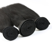 Wholesale Virgin Malaysian Hair Extension Alli Express Malaysian Virgin Straight Hair Weaves Top Grade Quality Human Hair