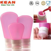 Soft Silicone Squeeze Bottle PVC for Spa Products