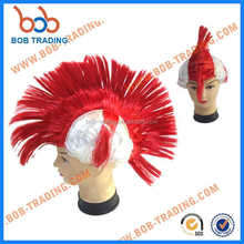 2018 hot sale cheap sports fans wig white people wigs