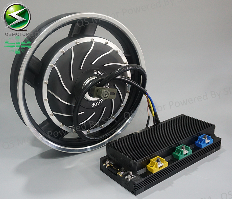 QS <strong>Motor</strong> 16inch 8000W Electric Motorcycle Kit / E Motorcycle kit / Electric Motorcycle Conversion Kits